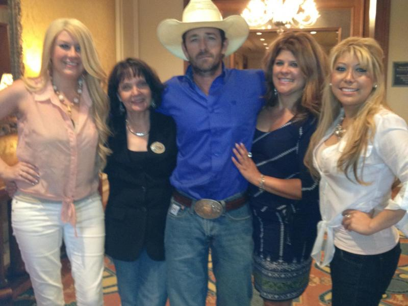luke perry, donnalyn and ym group